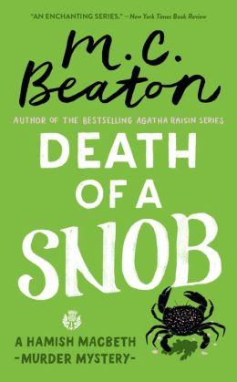 Death of a Snob (Hamish Macbeth Series #6)
