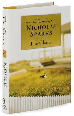 the choice nicholas sparks book report Report abuse transcript of the nicholas sparks the choice by: nicholas sparks main characters with description all of nicholas sparks books take place in.