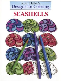 Designs for Coloring: Seashells
