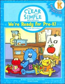 We're Ready for Pre-K!: Sounds and Letters