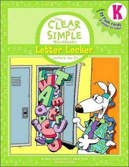 Letter Locker: Letters Aa-Zz