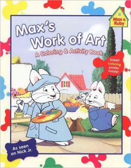 Max's Work of Art: A Coloring & Activity Book