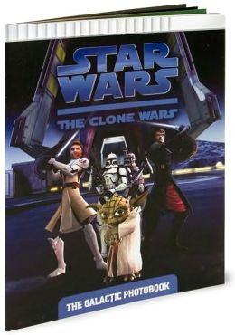 Star Wars The Clone Wars TV Series: The Galactic Photobook
