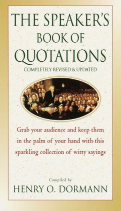 The Speaker's Book of Quotations