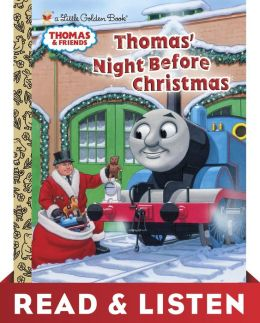 Thomas' Night Before Christmas (Thomas & Friends) Read & Listen Edition