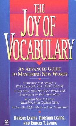 The Joy of Vocabulary