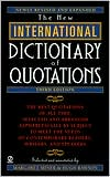 New International Dictionary of Quotations, 3rd Edition
