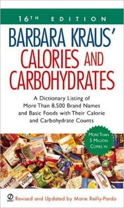 Barbara Kraus' Calories and Carbohydrates: (16th Edition)