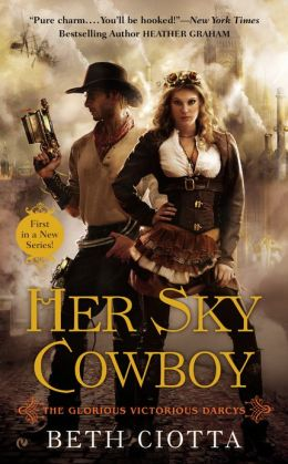 Her Sky Cowboy (Glorious Victorious Darcys Series #1)