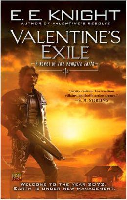 Valentine's Exile (Vampire Earth Series #5)