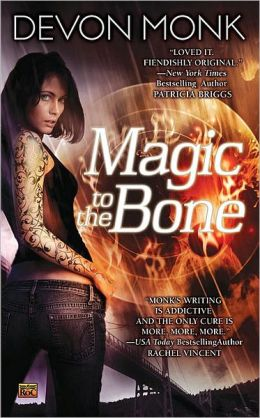 Magic to the Bone (Allie Beckstrom Series #1)