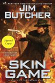 Book Cover Image. Title: Skin Game (Signed Book) (Dresden Files #15), Author: Jim Butcher
