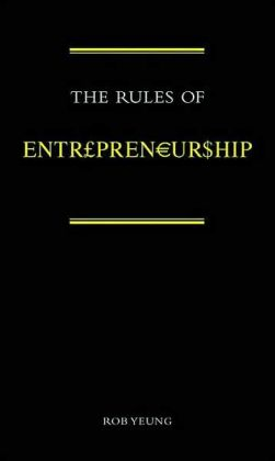 Rules of Entrepreneuriship
