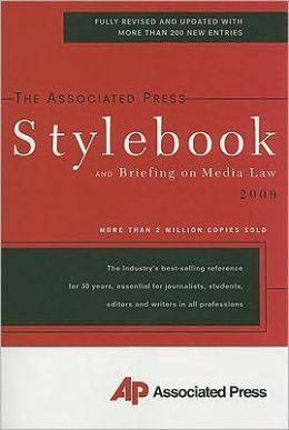 The Associated Press Stylebook 2009
