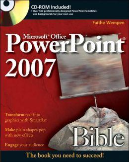 Microsoft Office PowerPoint 2007 Bible