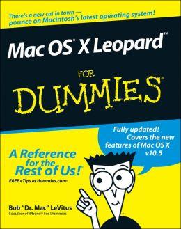Mac OSX Leopard For Dummies