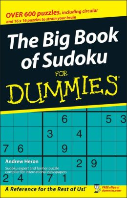 Big Book of SuDoku For Dummies