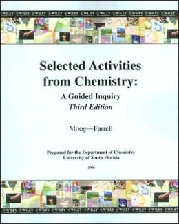 Selected Activities from Chemistry: A Guided Inquiry
