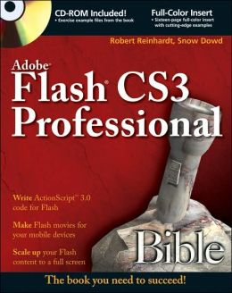 Adobe Flash CS3 Professional Bible
