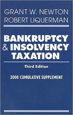 Bankruptcy and Insolvency Taxation