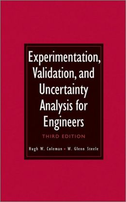 Experimentation, Validation, and Uncertainty Analysis for Engineers