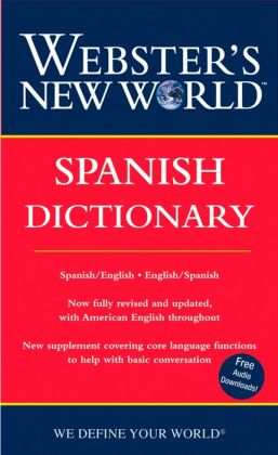Webster's New World Spanish Dictionary (Webster's New World Series)