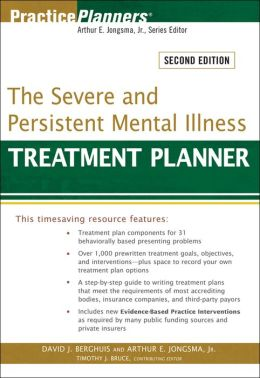 The Severe and Persistent Mental Illness Treatment Planner, with DSM-5 Updates, 2nd Edition