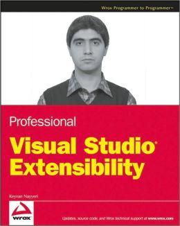 Professional Visual Studio Extensibility