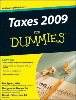 Taxes 2009 For Dummies