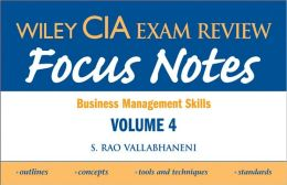 Wiley CIA Exam Review Focus Notes: Business Management Skills