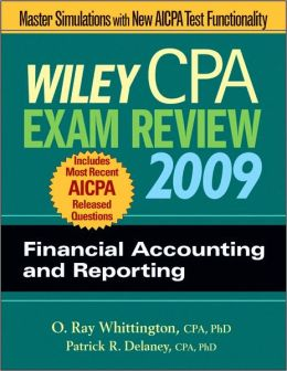 Wiley CPA Exam Review 2009: Financial Accounting and Reporting (Wiley CPA Exam Review Ser.)