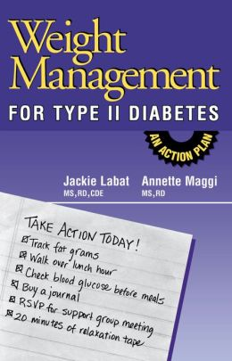 Weight Management for Type II Diabetes: An Action Plan