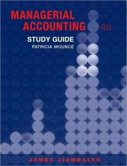 Managerial Accounting, Study Guide