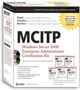 MCITP: Windows Server 2008 Enterprise Administrator Certification Kit