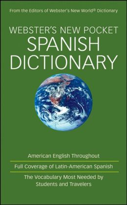 Webster's New Pocket Spanish Dictionary