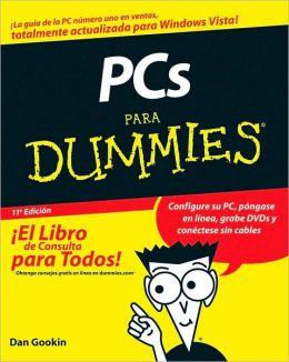 PCs Para Dummies (Para Dummies Series)