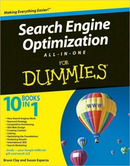 Search Engine Optimization All-in-One Desk Reference For Dummies