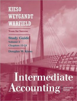 Study Guide, Vol. II t/a Intermediate Accounting
