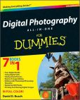 Book Cover Image. Title: Digital Photography All-in-One For Dummies, Author: David D. Busch