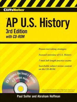 CliffsNotes AP U.S. History with CD-ROM, 3rd Edition