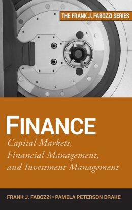 Finance: Financial Markets, Business Finance, and Asset Management
