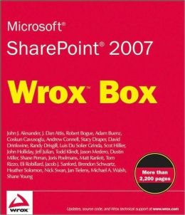 Microsoft Sharepoint 2007: Professional SharePoint 2007 Development, Real World SharePoint 2007, Professional SharePoint 2007 Design and Professional SharePoint 2007 Web Content Management Development