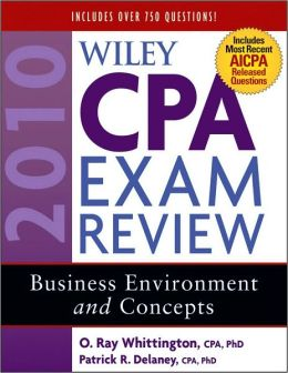Wiley CPA Exam Review 2010, Business Environment and Concepts