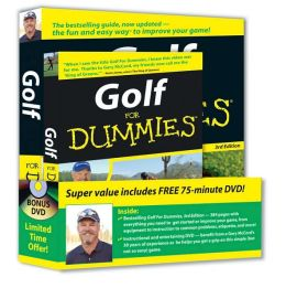 Golf For Dummies Bundle