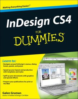 InDesign CS4 For Dummies