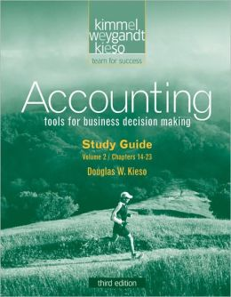 Study Guide Volume II to accompany Accounting