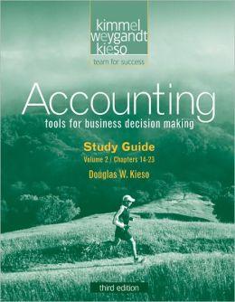 Study Guide Volume II to accompany Accounting
