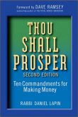 Book Cover Image. Title: Thou Shall Prosper:  Ten Commandments for Making Money, Author: Daniel Lapin