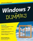 Book Cover Image. Title: Windows 7 For Dummies, Author: Andy Rathbone