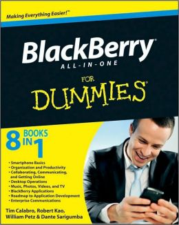 BlackBerry All-in-One For Dummies